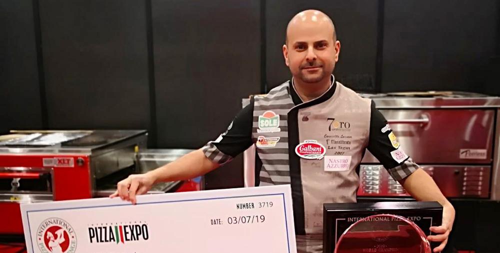 Luciano Carciotto vince al PizzaExpo 2019