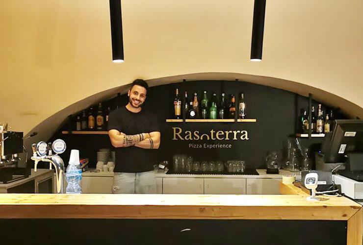 Karim Yacoubi della pizzeria Rasoterra di Catania