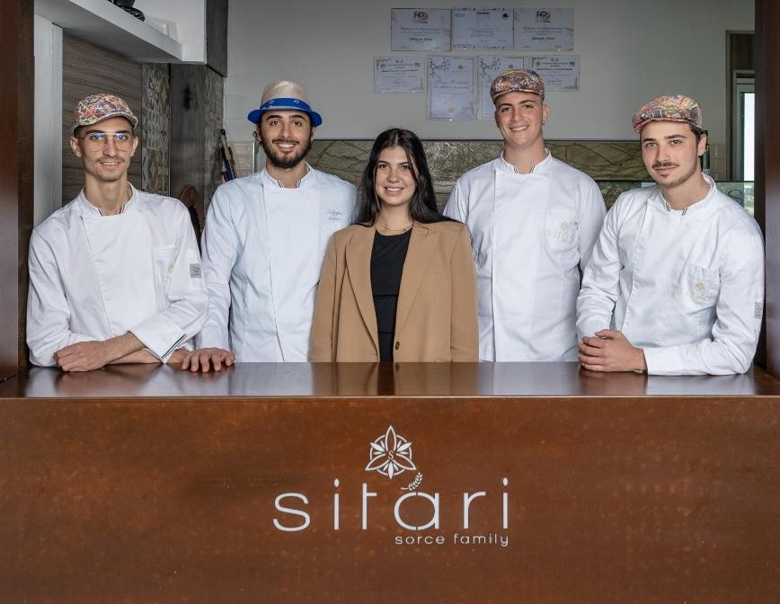 la famiglia Sorce della pizzeria Sitari